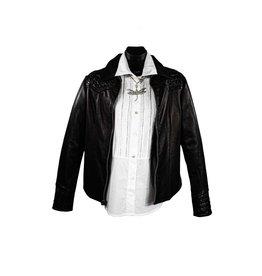 Alan Michael USA Corp 1123 Black Zip Gator Jacket