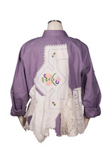 Char Designs, Inc. EJ shirt lace 1655 purple