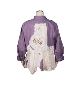 Char Designs, Inc. EJ shirt lace 1655 purple