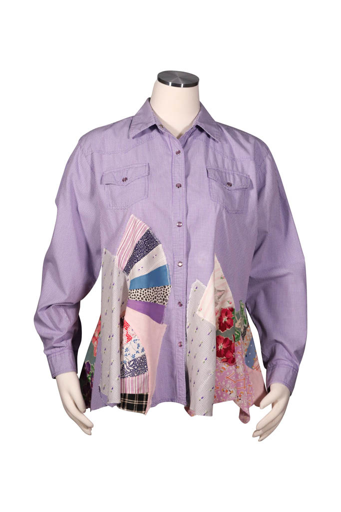 Char Designs, Inc. EJ shirt lace 2009 Cowboy, lady on back