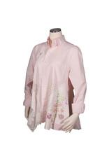 Char Designs, Inc. EJ shirt lace 2004, Pink/Wht. Check