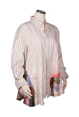 Char Designs, Inc. EJ shirt lace 1685 versace stripe