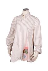 Char Designs, Inc. EJ shirt lace 1685 versace strip