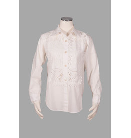 Char Designs, Inc. Lace Tuxedo Shirt