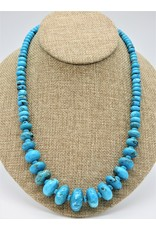 Pam Springall PS-N170C Nakozari Turquoise Graduated Fat Ronalls
