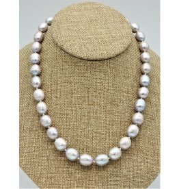 Pam Springall PS-N233C Lg Rice Pearls 20""