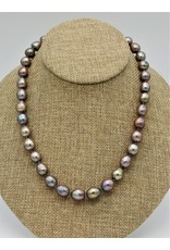 Pam Springall PS-N25C Taupe Rice Pearls