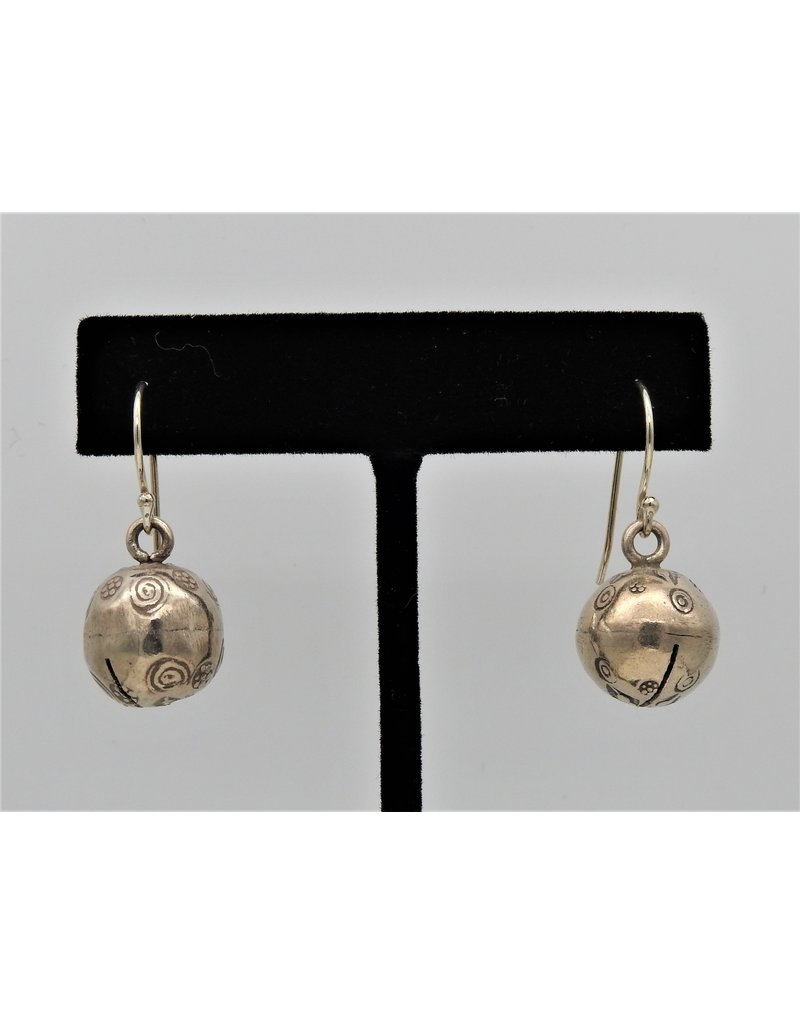 Pam Springall Silver Bell on wire