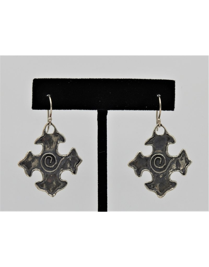 Pam Springall PS-E71C SS Fancy Crosses w/ Spiral