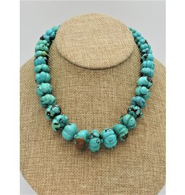 Pam Springall PS-N123C Turquoise Melons Necklace
