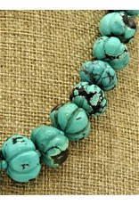 Pam Springall Turquoise Melons Necklace
