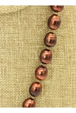 Pam Springall PS-N23 Copper Rice Pearls