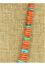 Pam Springall PS-N39C Spong Coral & Turquoise