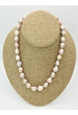 Pam Springall Natural Baroque Pearls (Japan) Necklace