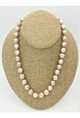 Pam Springall Natural Boroque Pearls (Japan) Necklace