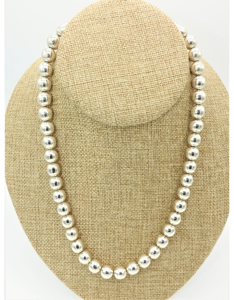 """Ray Van Cleve RVC-N8C 20"""" Rnd, 13mm Beads Necklace"""