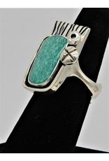 Judy Perlman JP-R44C Sterling Silver w/ Turquoise  7