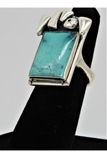 Judy Perlman JP-R43C Sterling Silver w/ Turquoise 7
