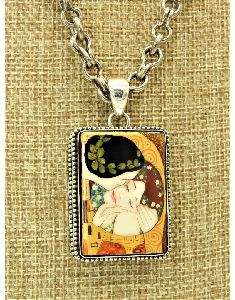 Anna King Designs AK-PB6 the Kiss Pendant (Chain sold separately)