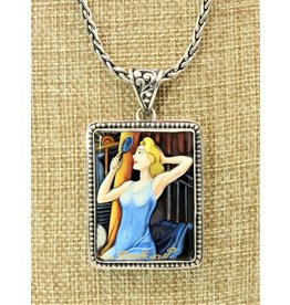Anna King Designs SS w/Scene-Street Car Named Desire Pendant