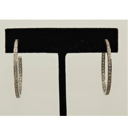 Diva Jewels Diamond Hoops