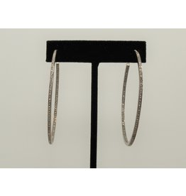 Diva Jewels Diamond Hoop Earrings