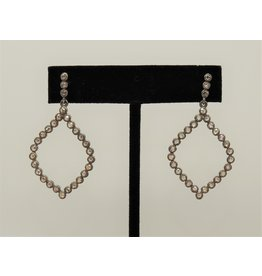 Diva Jewels 7468 (diamond shape diamond earrings)