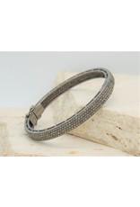 Diva Jewels 24452 4-row diamond bangle