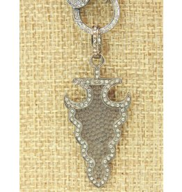 Diva Jewels 9491 (arrowhead diamond pendant)