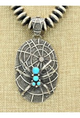 SW Native American Lg. Spider Pendant (beads sold separately)