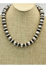 "SW Native American SW-N 20"" Lg.Bead/Disc Navajo Pearls"