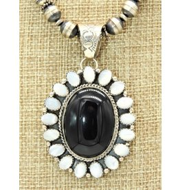 SW SW-P Onyx/MOP Pendant (Beads sold separately)
