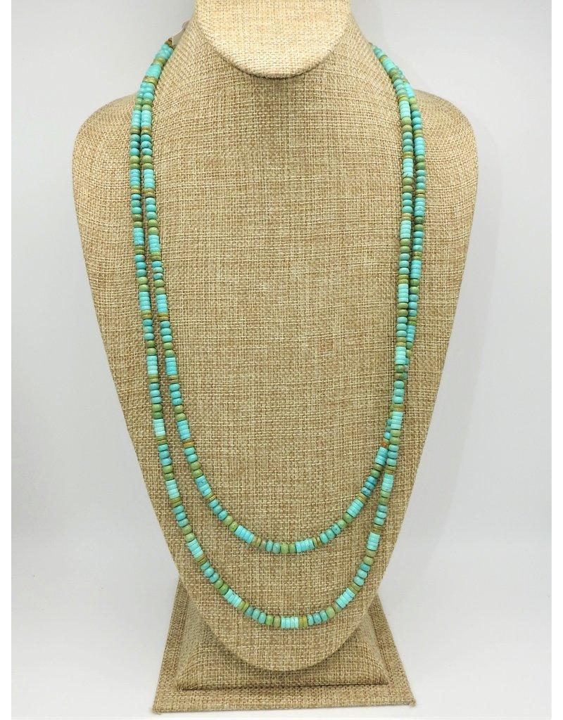 "SW Native American SW-N 60"" Turq. Beads"