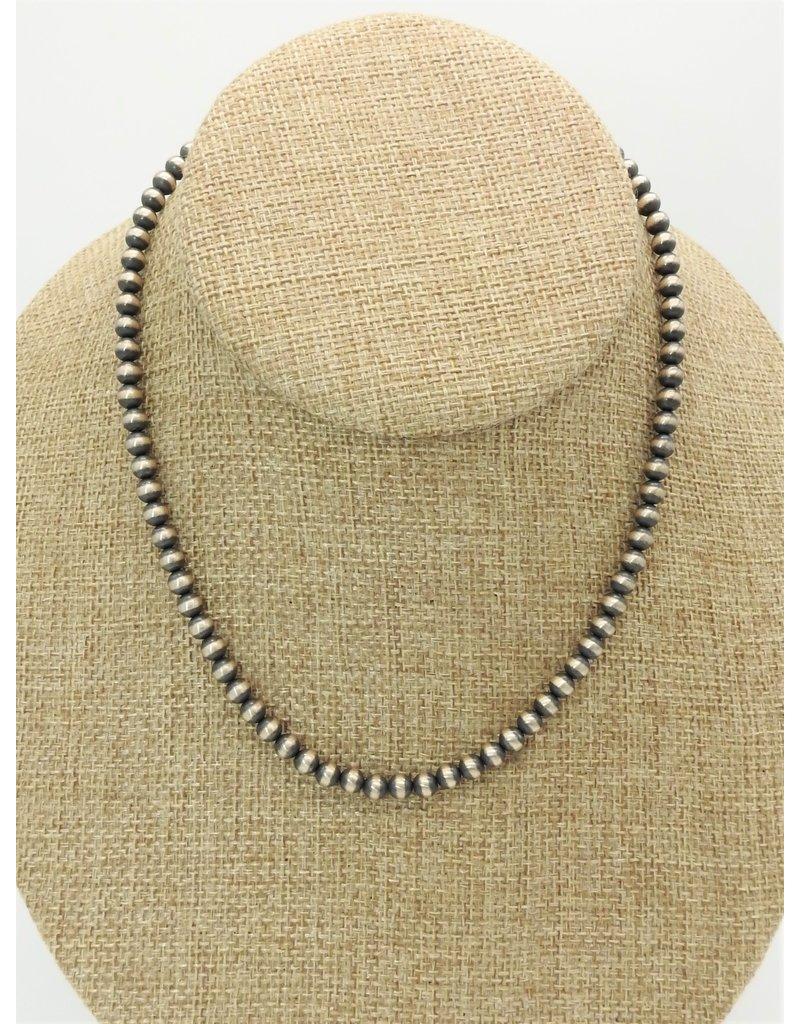 """SW Native American SW-N 16"""" 5mm Navajo Pearls"""