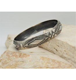 SW SW-B SS Stamped Bangle1 by Vincent