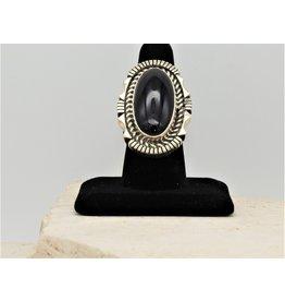 SW Native American SW-R SS w/ Black Onyx Ring