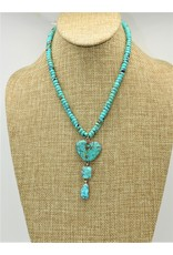 Silver Sun SS-C Turq.Mtn-Bonnie Sandoval Necklace
