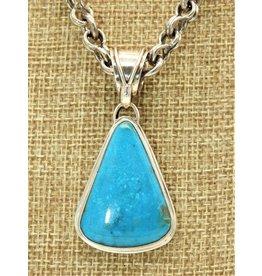 Shreve Saville SS w/ Nakozari Turquoise Pendant