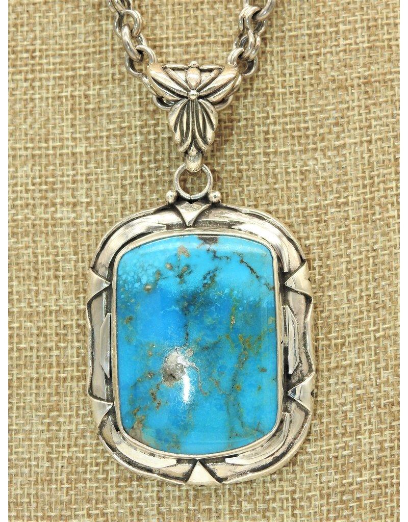 Shreve Saville Lg. Rectangle Nakozari pendant