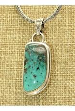 Shreve Saville SS w/ Turquoise pendant