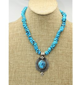 Silver Sun SS-C Ithica Peak Beads & Pendant