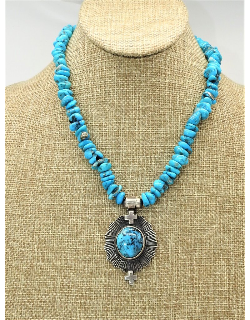 Silver Sun SS-C Ithica Peak Beads & Pendant