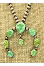 Silver Sun SS-C Sonoran Gold Turquoise Naja/Antiqued Bead Necklaces