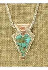 Northstar NS-SS, Natural Cripple Creek Turquoise Necklace
