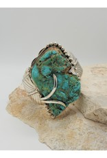 Northstar NS-Roughcut Cripple Creek Natural Turquoise Bracelet