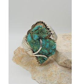 Northstar NS-Roughcut Cripple Creek Natural Turquoise Bracelet