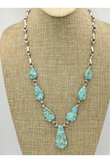 Northstar NS- Natural Cripple Creek Seafoam Turquoise Necklace