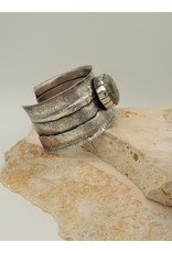 Northstar NS-Sterling Silver with Cripple Creek Turq. Cuff