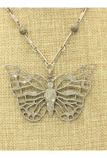 "Gildas Gewels N1220-C Diam. Butterfly 16"""