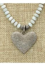 Gildas Gewels N1260-C Diam Heart/AquaM